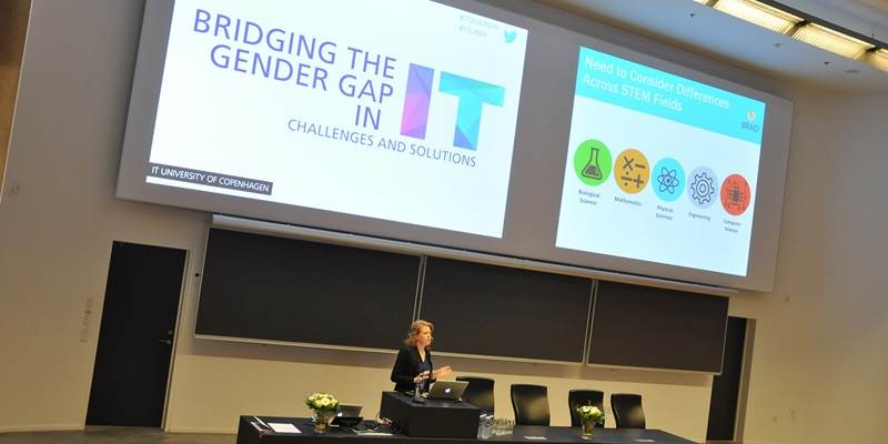 Video: ITU conference addressed the gender gap in IT
