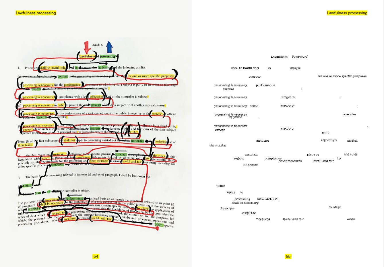 GDPR: Deletion poems | rachel douglas-jones