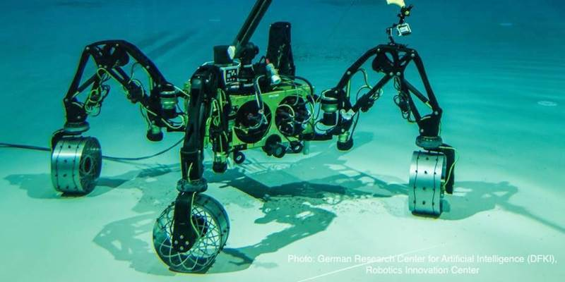 The IT University is coordinating new European expert training in underwater robots