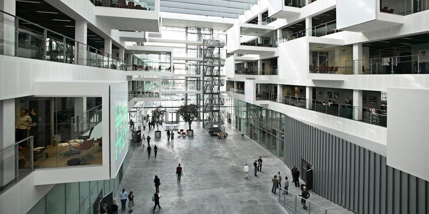 Atrium på IT-Universitetet